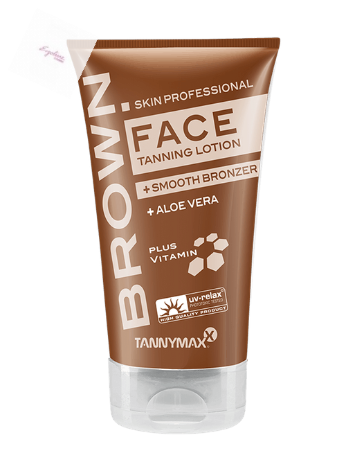 Brown Face Tanning Lotion + Bronzer