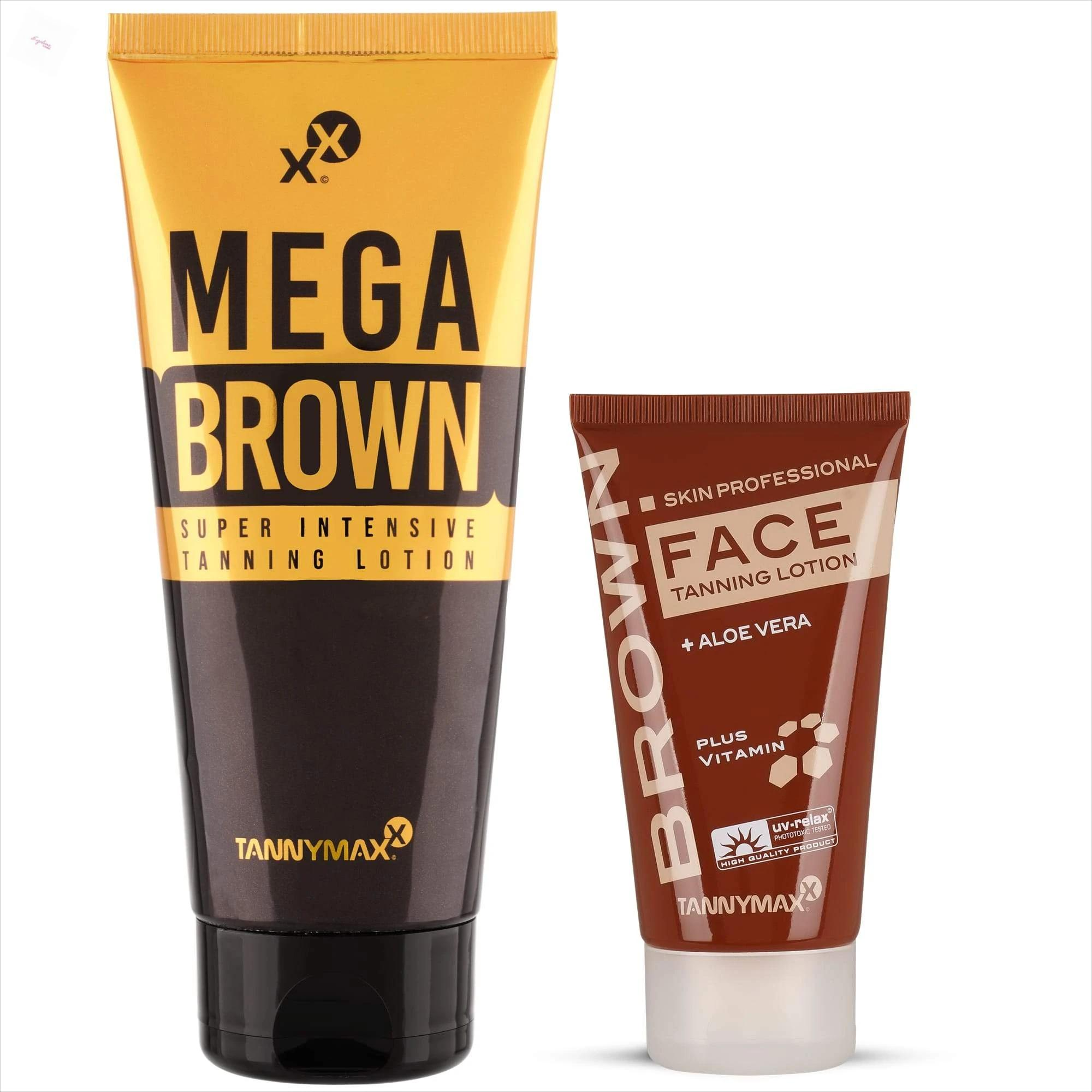 Tannymaxx MegaBrown Super Intensive Tanning a Brown Face