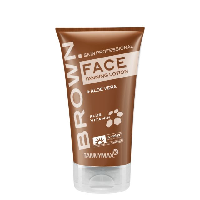 Brown Face Tanning Lotion