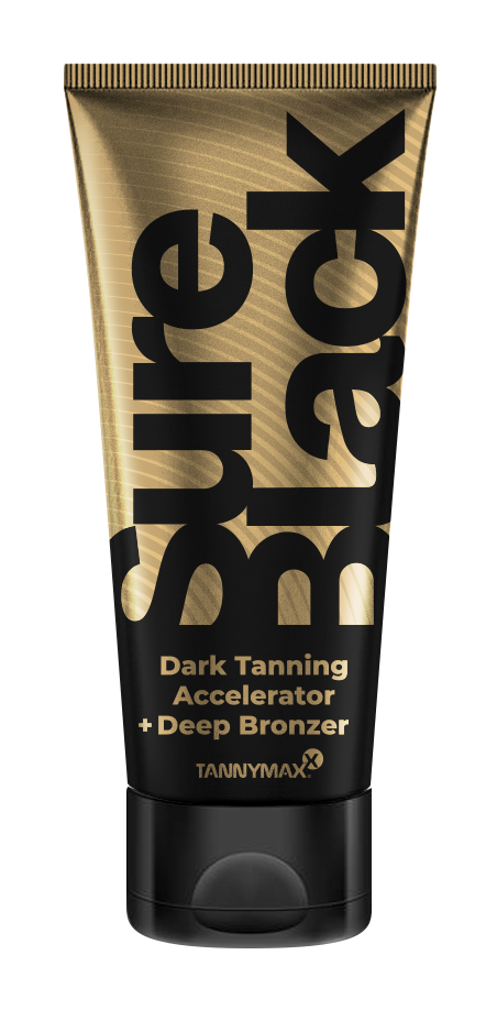 Sure Black Tanning Accelerator+ Deep Bronzer 200ml